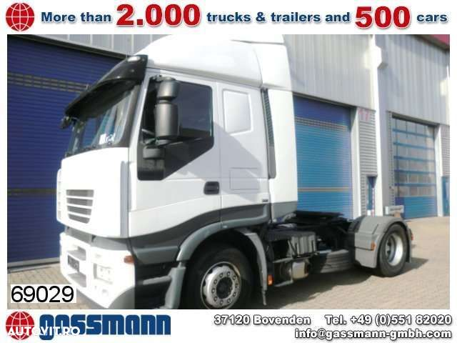 Iveco Stralis 440S45T/P 4x2 Standheizung/Klima/R-CD - 1