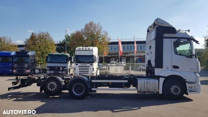 Mercedes-Benz Actros 2545 Mp4 Bdf Streamsp. Euro 6 Intarder - 12