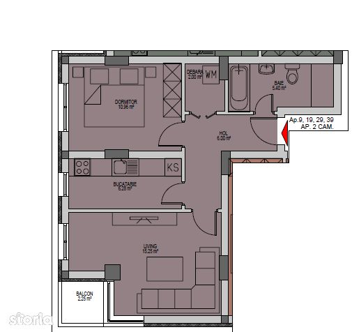Apartament de vanzare, Ilfov (judet), Strada Oituz - Foto 2