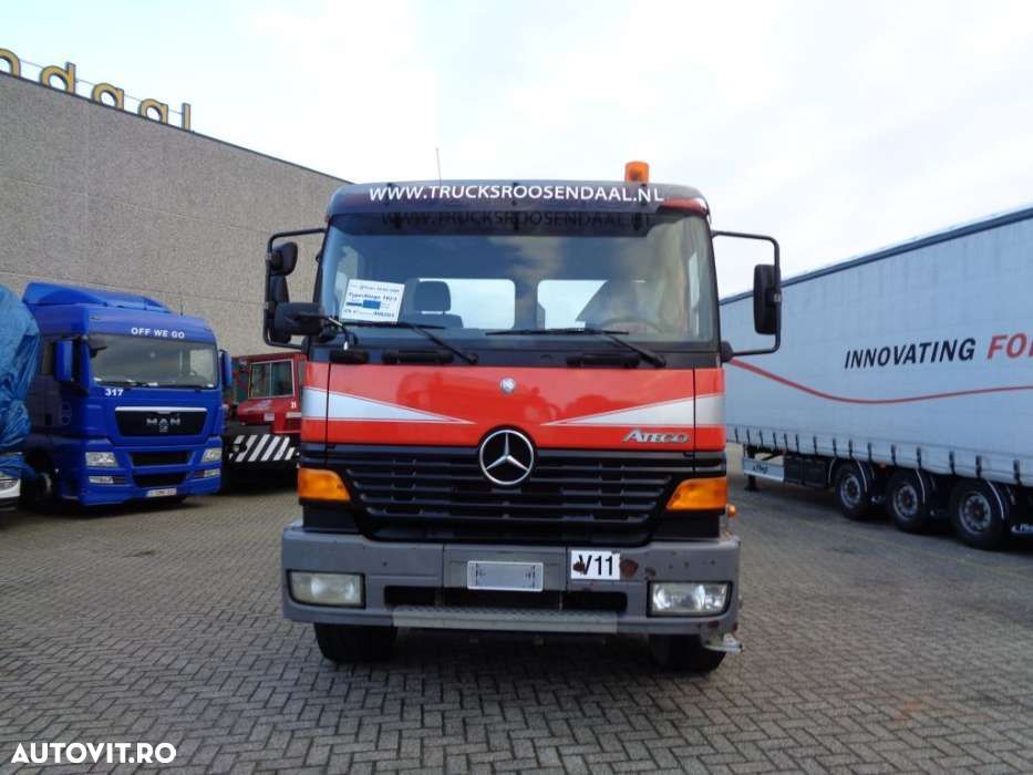 Mercedes-Benz Atego 1828 + PTO + Manual + Hook - 2