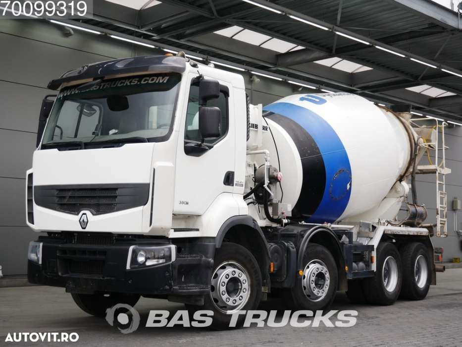 Renault Premium Lander 380 DXi 8X4 Big-Axle Steelsuspension Euro 5 - 1