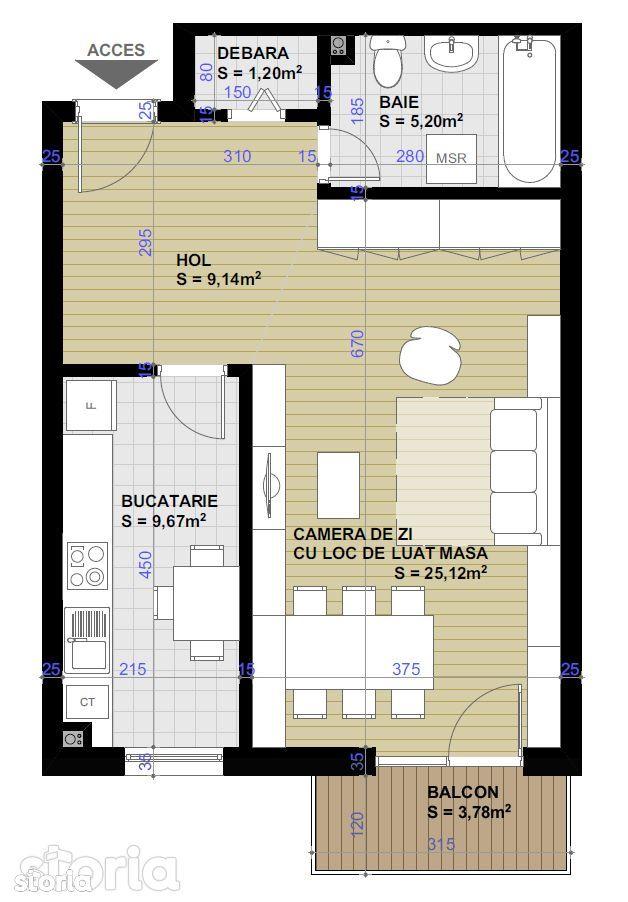 Apartament de vanzare, Cluj-Napoca, Cluj, Apahida - Foto 3