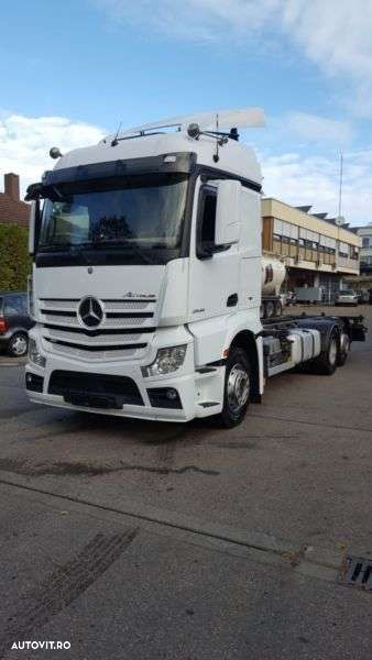 Mercedes-Benz Actros 2545 Mp4 Bdf Streamsp. Euro 6 Intarder - 1