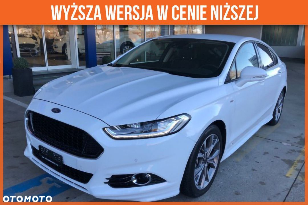 Ford Mondeo Ford Mondeo RM 2018 2.0 TDCi 180KM, PowerShift 'ST-LINE X'|Full LED i - 1