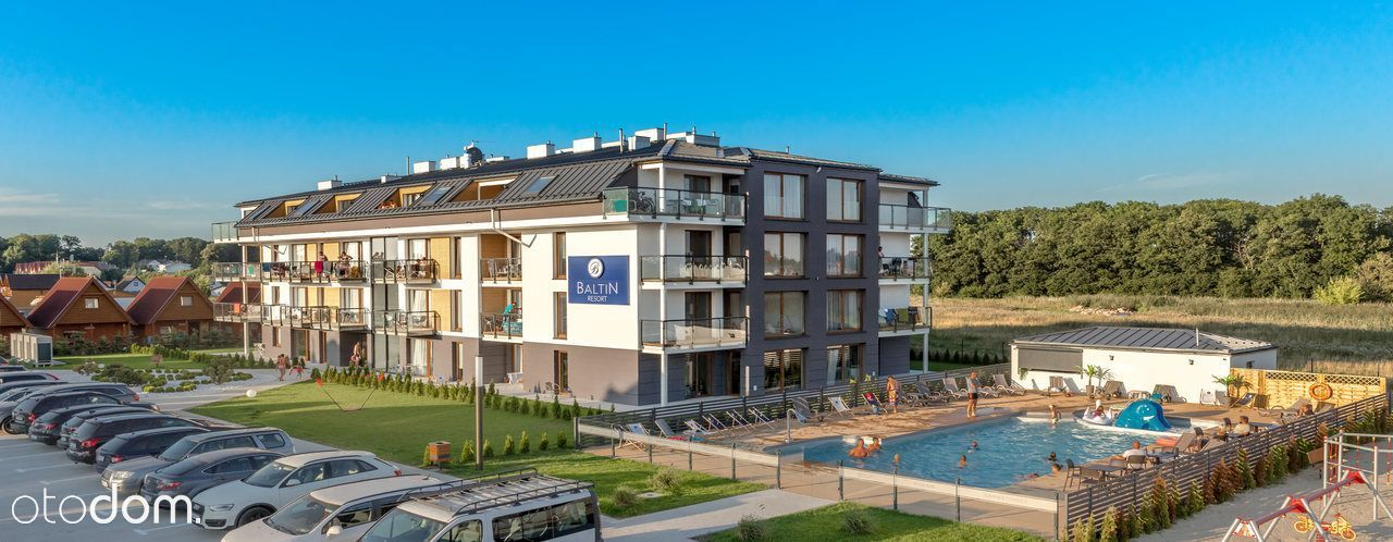 Nietypowy Okaz Apartamenty nad morzem - Baltin Blu k/ Mielna, mieszkania from RO53