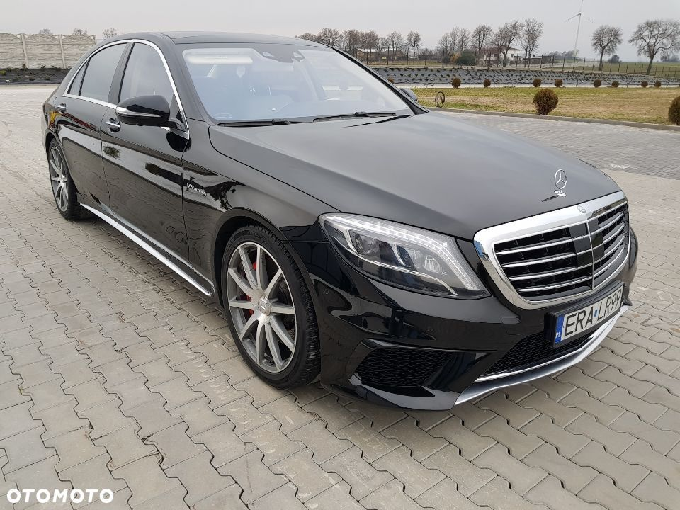 Mercedes-Benz Klasa S S 63 AMG 4 MATIC Long - 3