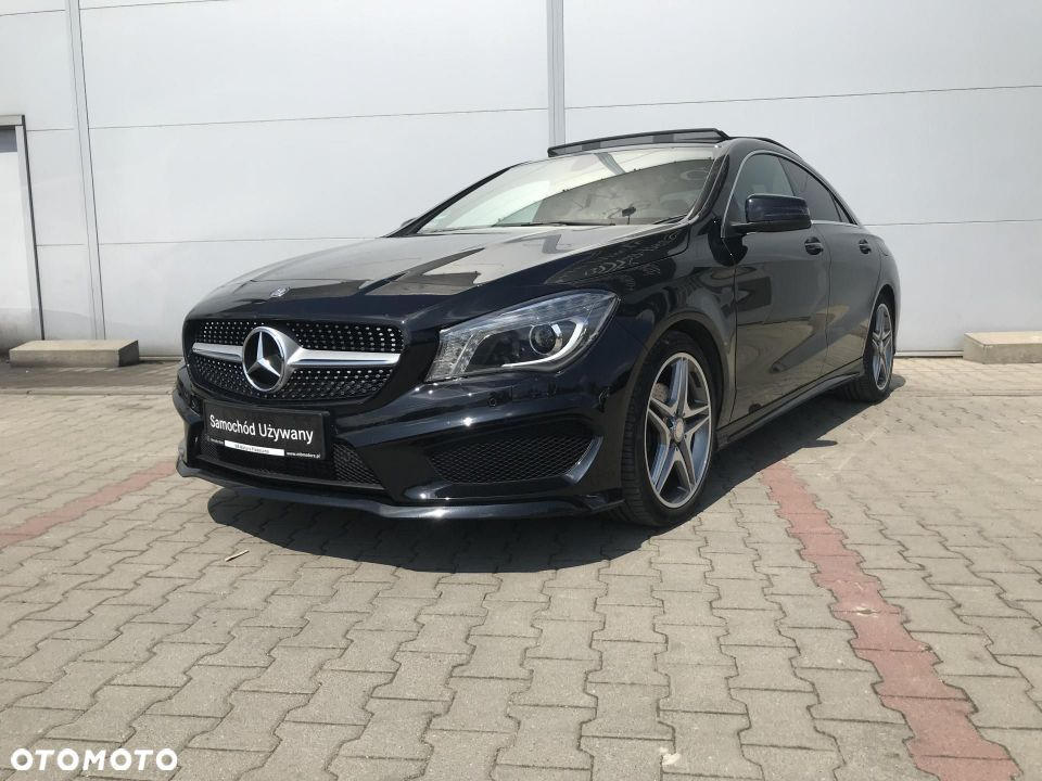 Mercedes-Benz CLA 200, fv 23%, salon polska, od dealera - 1