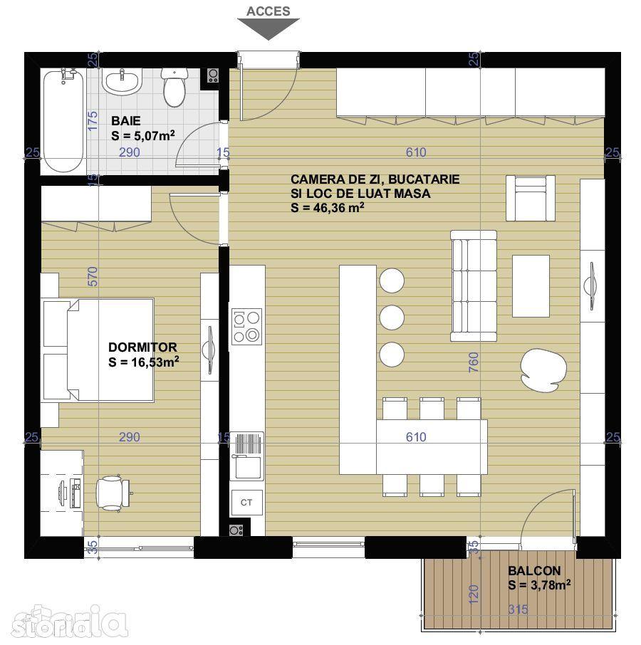 Apartament de vanzare, Cluj-Napoca, Cluj, Apahida - Foto 4