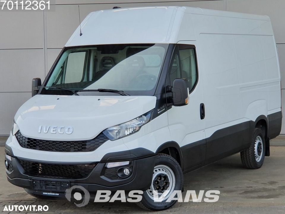 Iveco Daily 35S17 3.0 170PK Automaat Standkachel L2H2 12m3 Airco Trekhaak Cruise - 1