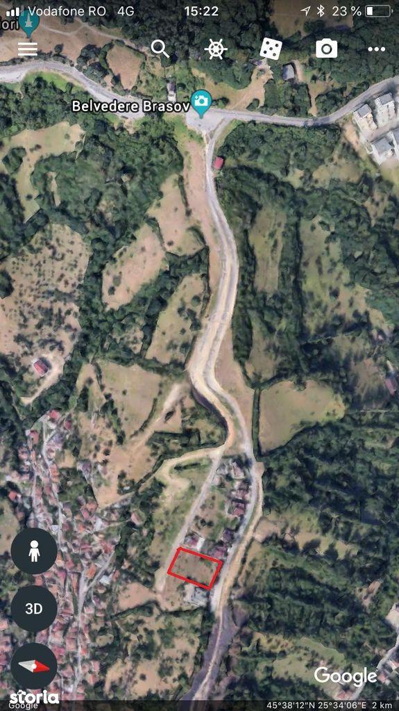 Teren de Vanzare, Brașov (judet), Prund-Schei - Foto 3