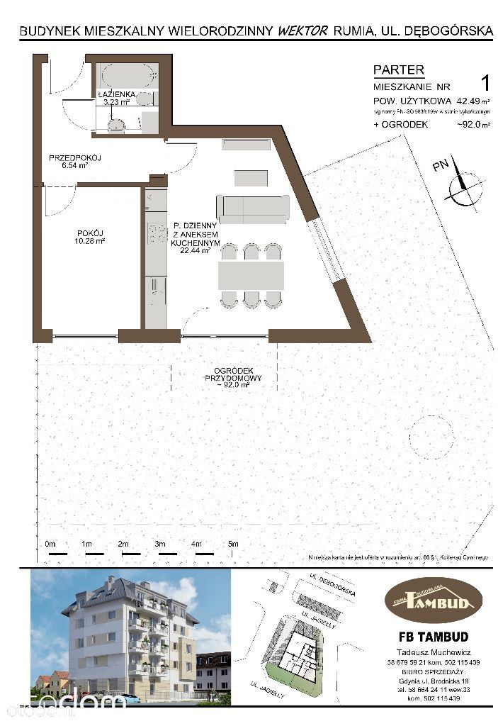 Mieszkanie na sprzedaż, Rumia, wejherowski, pomorskie - Foto 1009