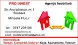 Agentie imobiliara: Pro Invest Imobiliare
