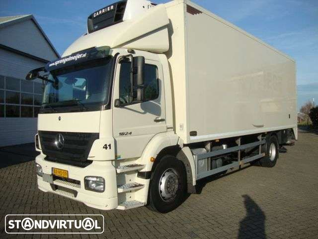Mercedes Benz 1824 cooling en heating syteem - 1