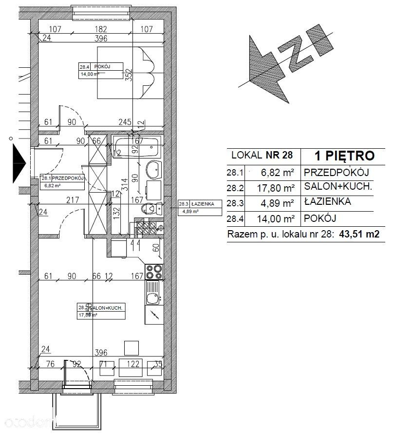 Mieszkanie na sprzedaż, Wieliszew, legionowski, mazowieckie - Foto 9