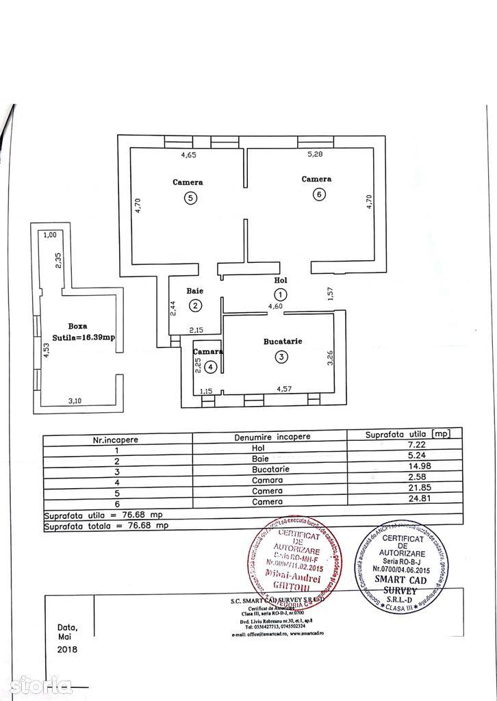 Apartament de vanzare, Timiș (judet), Calea Șagului - Foto 10