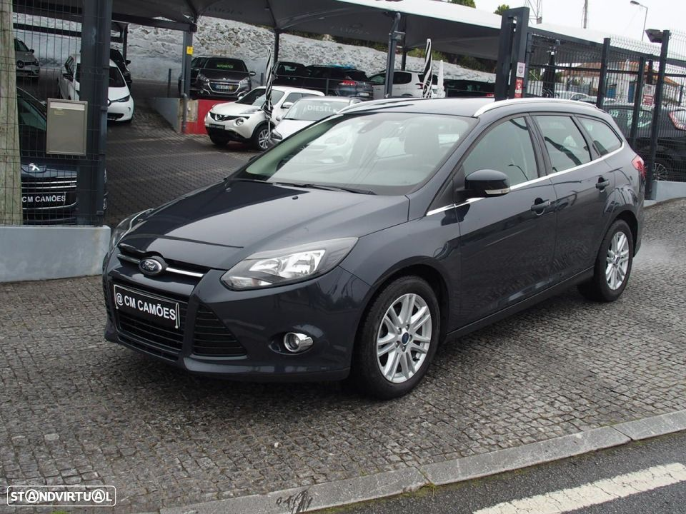 Ford Focus SW 1.6 TDCI Trend Econetic - 1