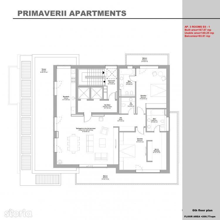 Apartament de vanzare, București (judet), Primăverii - Foto 12