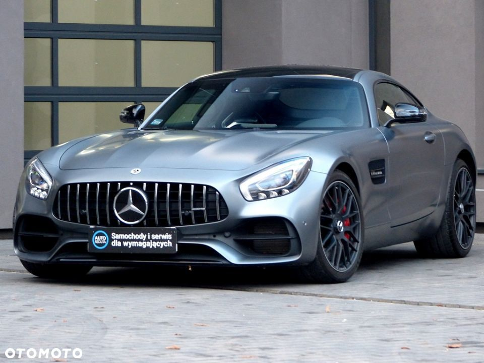 Mercedes-Benz AMG GT S Coupe V8 522KM! FV23% Panorama/Burmester/Distronic! - 1