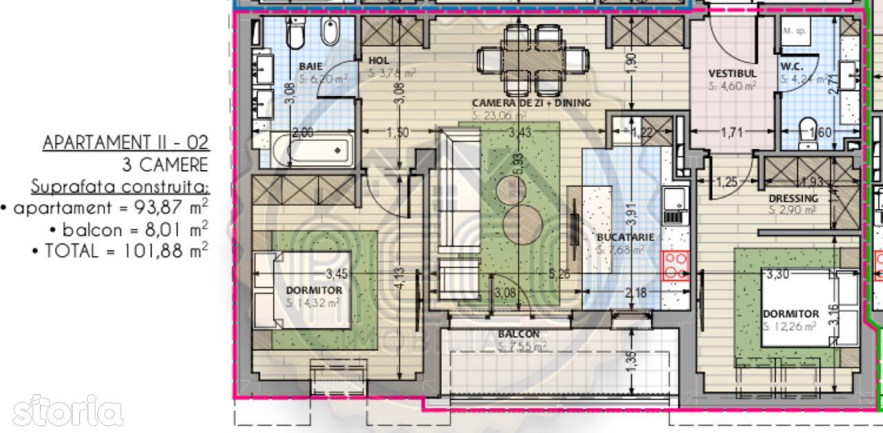 Apartament de vanzare, Bihor (judet), Rogerius - Foto 1