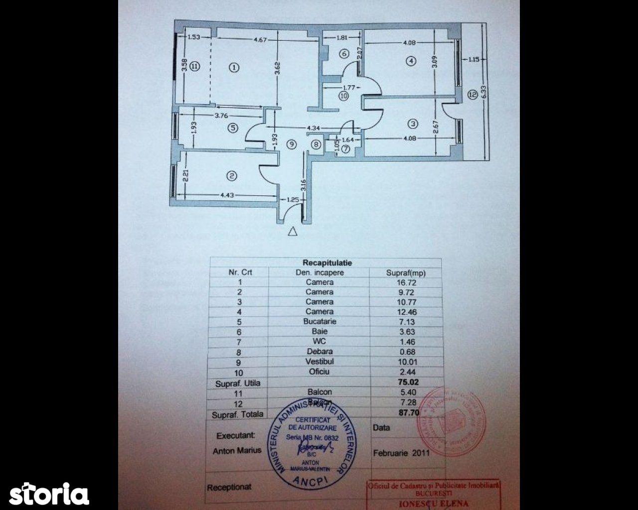 Apartament de vanzare, București (judet), Calea Dorobanților - Foto 10