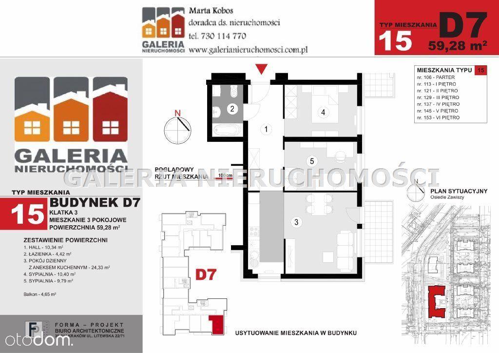 Mieszkanie na sprzedaż, Rzeszów, Zwięczyca - Foto 6