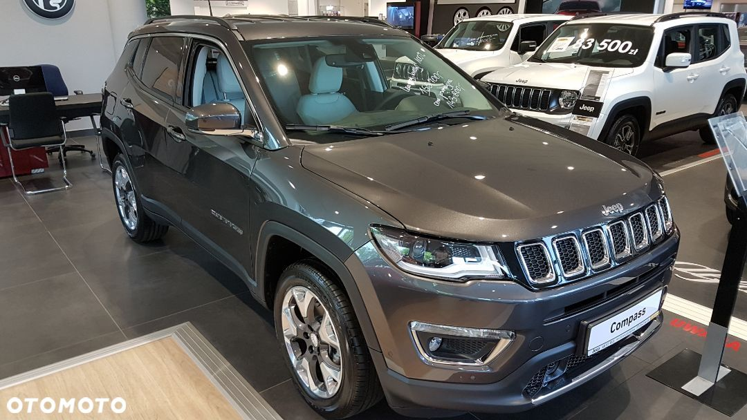 Jeep Compass Limited 170 KM Benzyna Automat 9 Dealer Jeep - 1