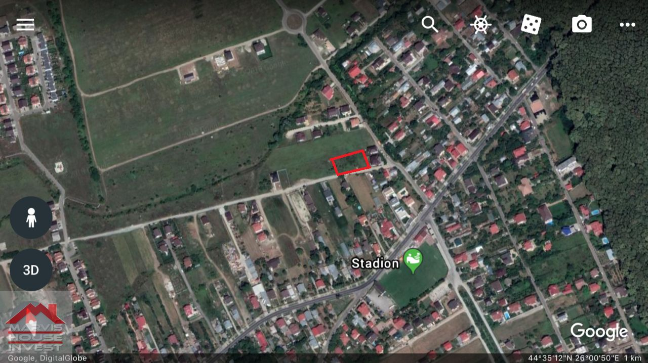 Teren de Vanzare, Ilfov (judet), Tamaşi - Foto 3