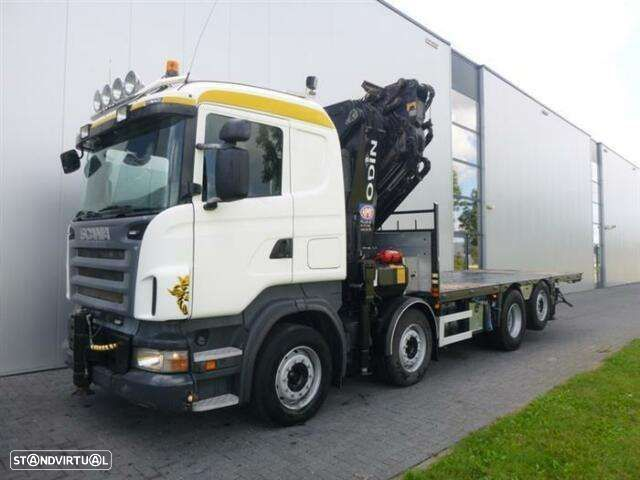 Scania R480 8x2 Hmf Odin O K5 With Jib Euro 4 - 3