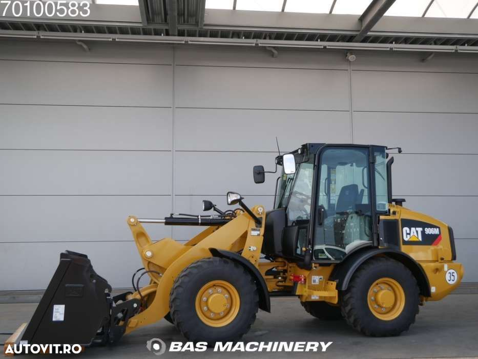 Caterpillar 906 M Bucket and forks - ride controle - warranty - 6