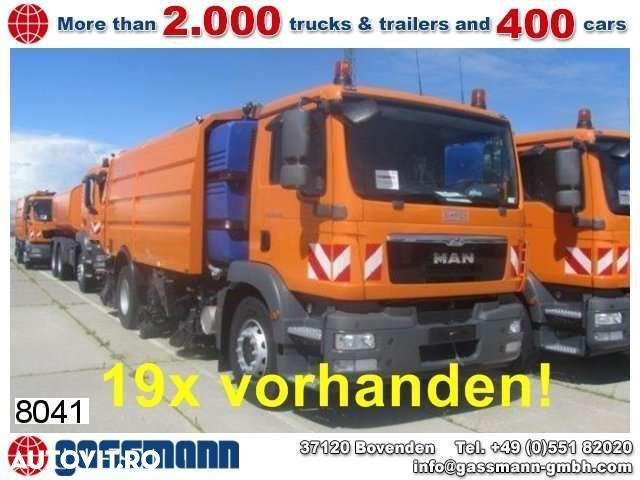 MAN TGM 18.330 4x2 Schmidt AS 990 Airport - 1