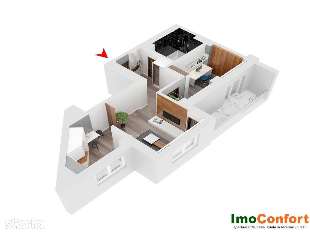 Apartament de vanzare, Iasi, Tudor Vladimirescu - Foto 13