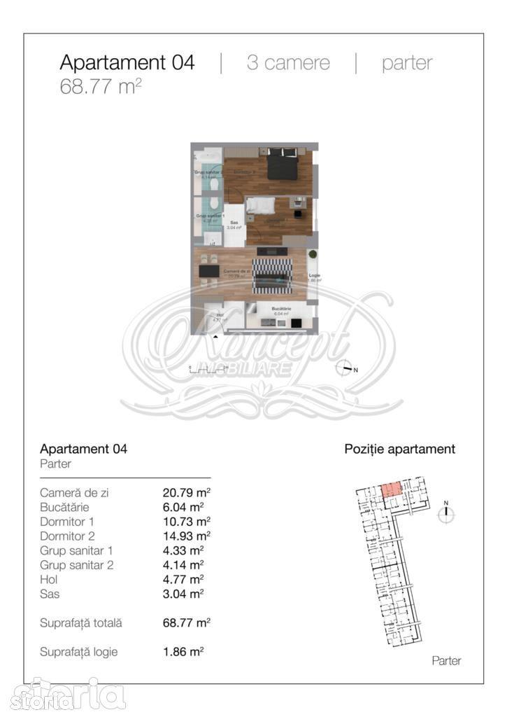 Apartament de vanzare, Cluj-Napoca, Cluj, Gheorgheni - Foto 17