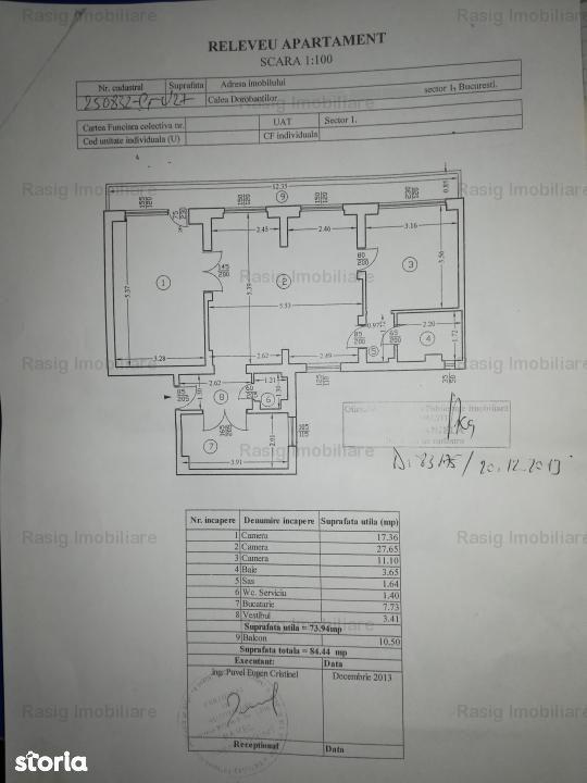 Apartament de vanzare, București (judet), Calea Dorobanților - Foto 14