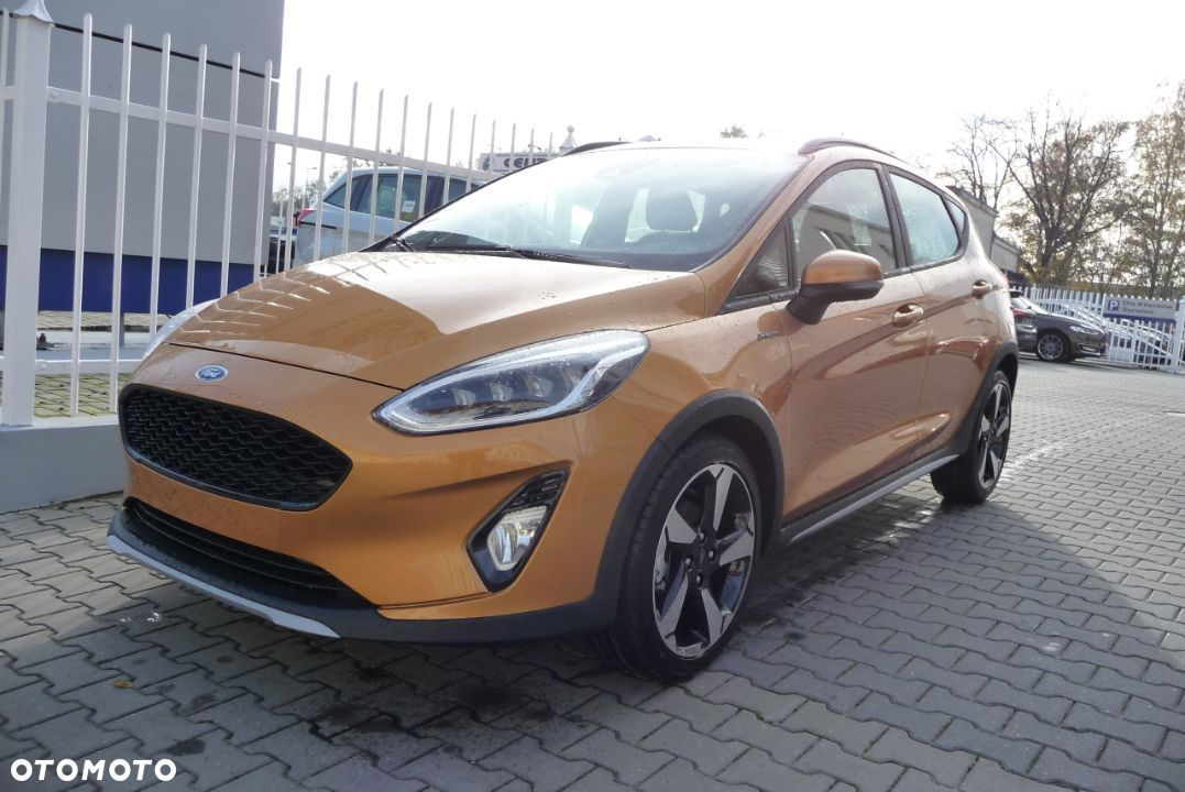 Ford Fiesta 1.0 EcoBoost 100 KM M6 Active 2 Luxe Yellow + pakiety KREDYT 0% - 2