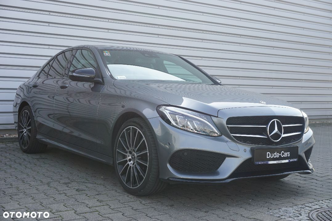 Mercedes-Benz Klasa C 220d AMG Led Kamera Night KeylessGo Salon PL Duda Cars Wroclaw - 4