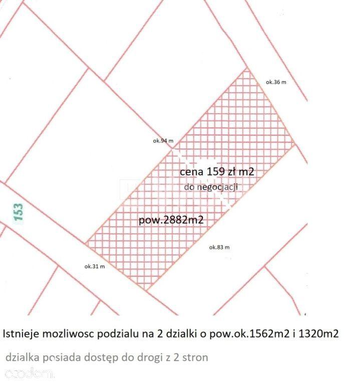 Działka na sprzedaż, Jaworzno, Dąbrowa - Foto 2