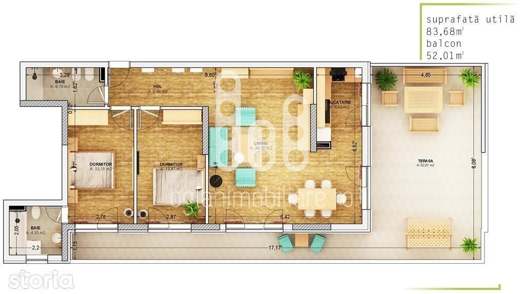 Apartament de inchiriat, Sibiu (judet), Centru - Foto 12