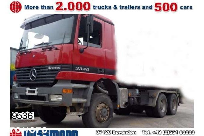 Mercedes-Benz Actros 3340ak 6x6 Chassis  Mercedes-benz Actros 3340ak 6x6 Chassis - 1