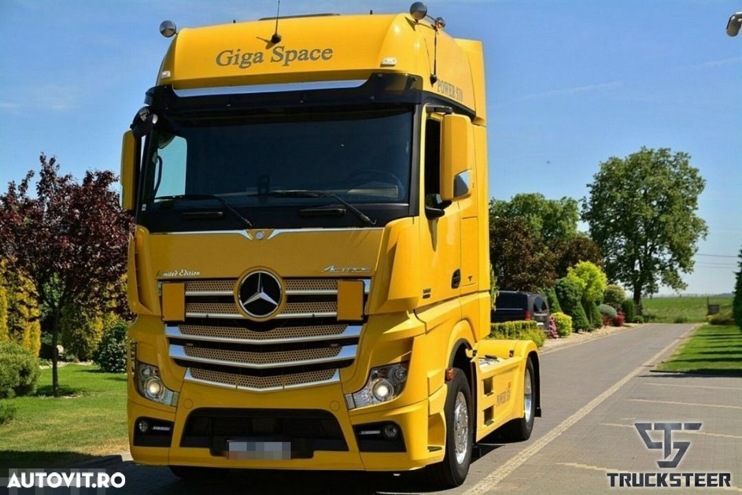Mercedes-Benz Actros 1851 Limited Euro6 GigaSpace 07/2013 - 8
