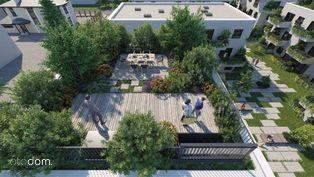 Apartament A2.15 z ogrodem na dachu 4 pokoje