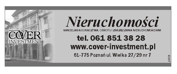 Cover Investment Nieruchomości