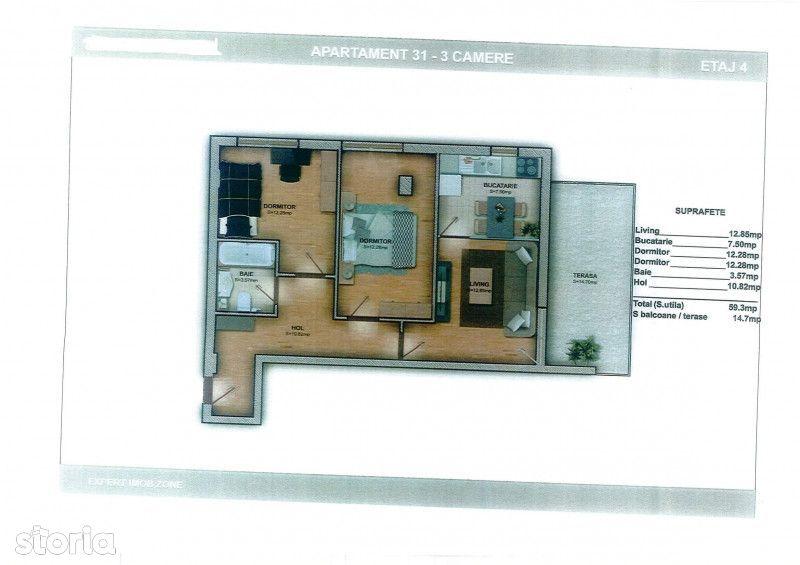 Apartament de vanzare, Ilfov (judet), Strada Monumentului - Foto 1