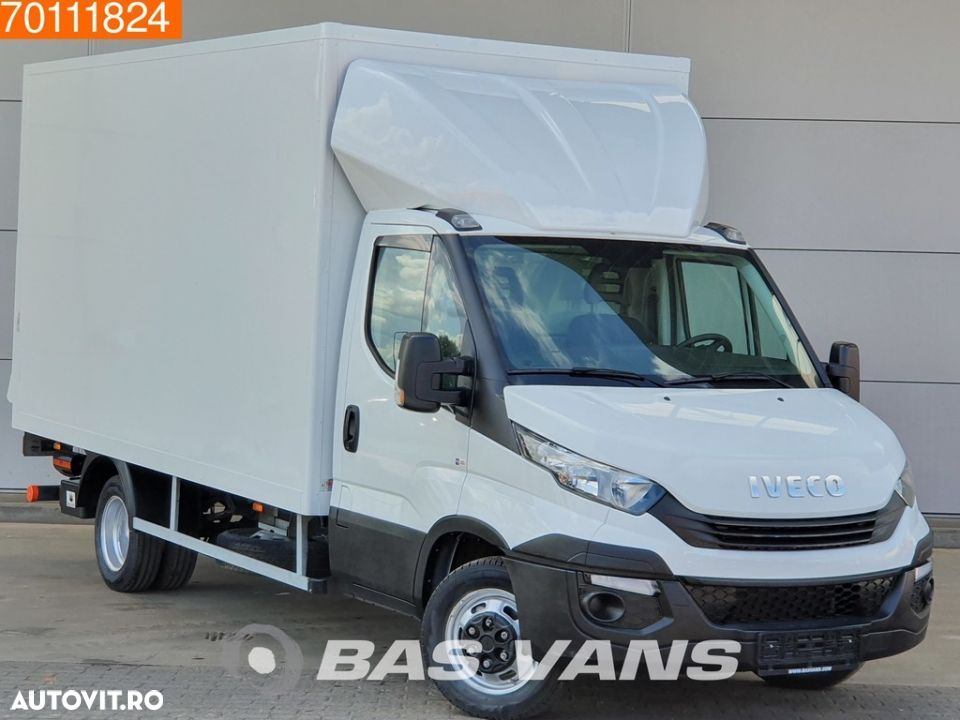 Iveco Daily 35C16 160pk Bakwagen Laadklep Koffer LBW 19m3 Airco Cruise - 3