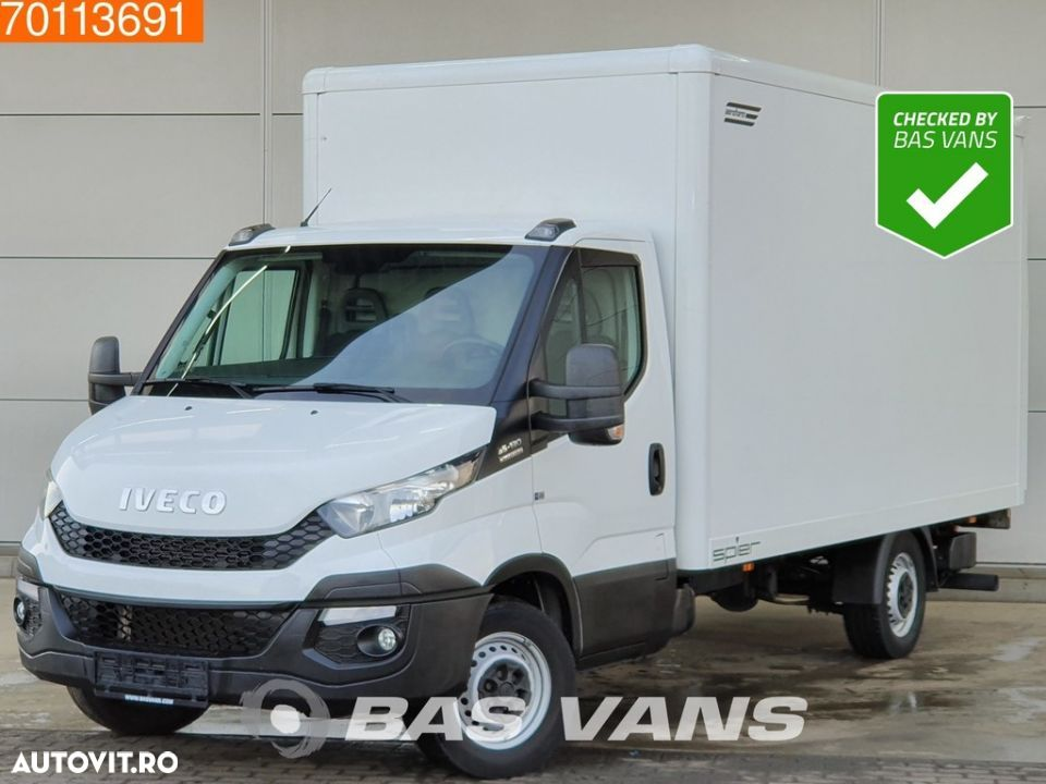 Iveco Daily 35S13 2.3 HPI Bakwagen Automaat Laadklep 18m3 Airco Cruise - 1