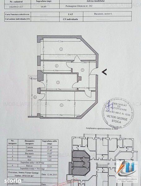 Apartament de vanzare, București (judet), Prelungirea Ghencea - Foto 16