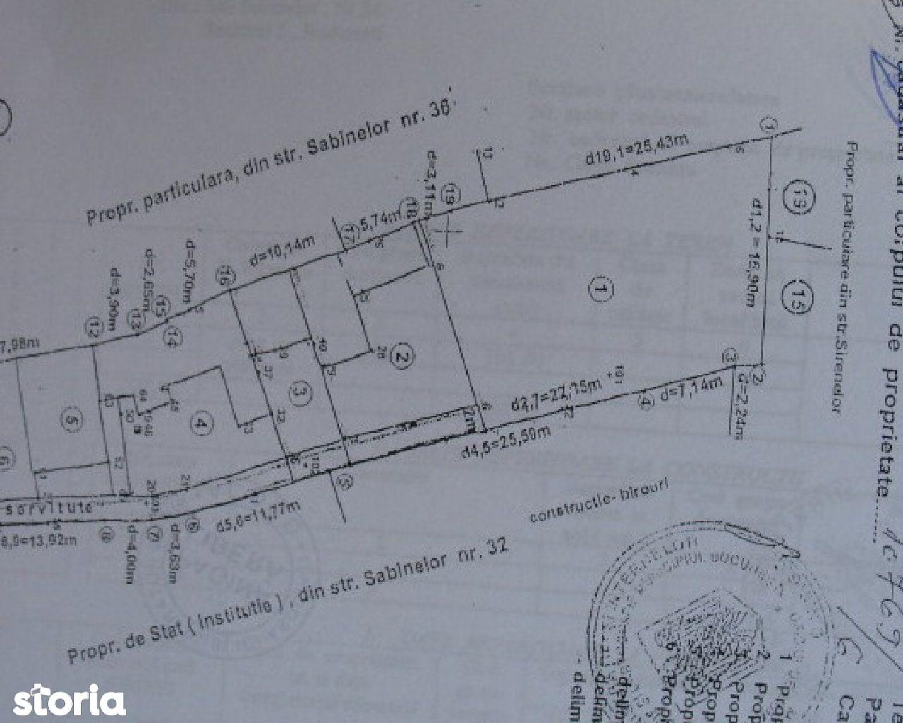 Teren de Vanzare, București (judet), Strada Sabinelor - Foto 3