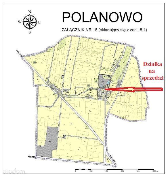 Działka na sprzedaż, Polanowo, górowski, dolnośląskie - Foto 8