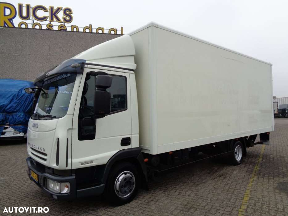 Iveco Eurocargo 80E18 + Manual + Euro 5 + Airco + Lift - 1