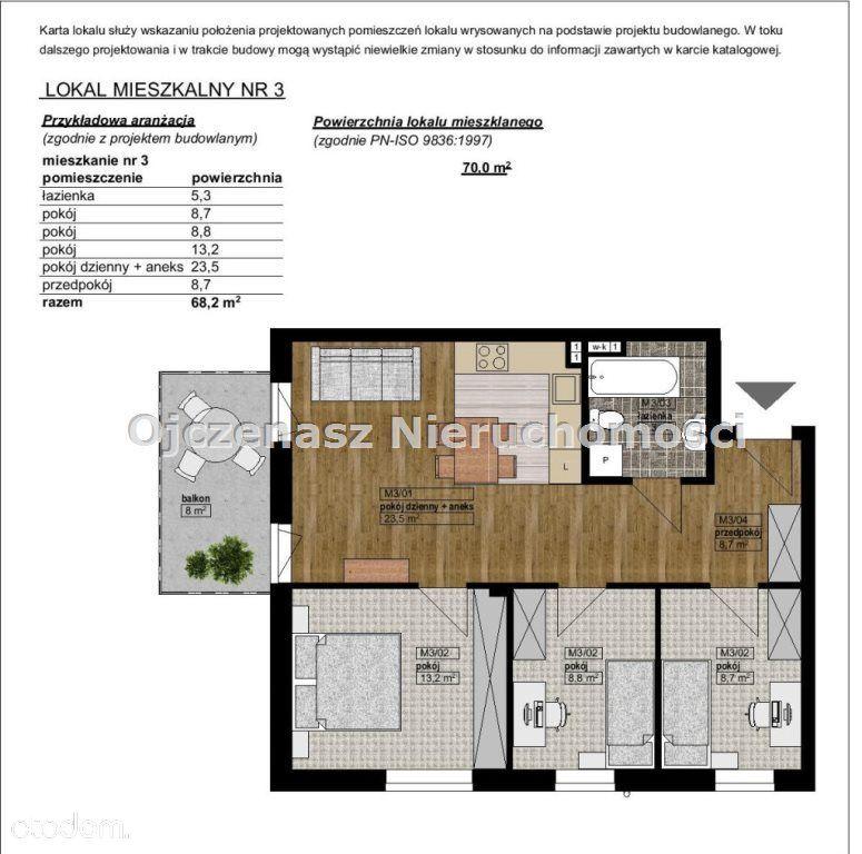 Mieszkanie na sprzedaż, Bydgoszcz, Jary - Foto 1