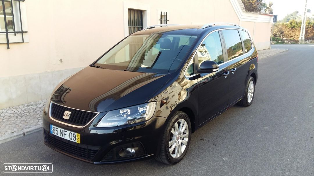 SEAT Alhambra 2.0 CR TDI STYLE ADVANCED GPS + Camera NACIONAL - 1